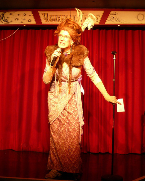 Former Music Hall Singer turned hiphop rap superstar Ida Barr